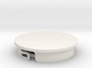 Hobbyist Base (pt 2/2) Suitable for custom Amiibo in White Strong & Flexible