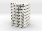Tonnen schaal N (1:160 in White Strong & Flexible