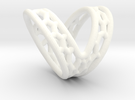 V-shape Finger splint Size10.5 ; Inner diameter 20 in White Strong & Flexible Polished