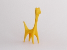 Long Neck Creature in Yellow Strong & Flexible Polished