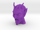 Krampus the Christmas Demon in Purple Strong & Flexible Polished