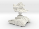 ZTEST DF -TANK - MEDIUM - ARTILERY Scaled To 41 Mm in White Strong & Flexible
