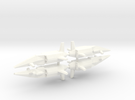 Tyrfing 1-1000 Flight in White Strong & Flexible Polished