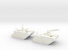 15mm AQMF EDISON / TESLA LIGHTNING TANK MK II in White Strong & Flexible Polished