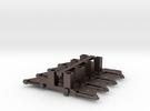 Blenden für Halling-Triebdrehgestelle (4 Stück) in Stainless Steel