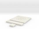 SciFi Tile 13 - Manhole in White Strong & Flexible
