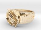 V3 Reverse Flash Size 11 20.68mm in 14K Gold