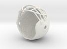 FOOTBALLHELMET in White Strong & Flexible