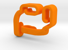 Bag Hooks in Orange Strong & Flexible Polished
