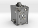 Brownie Kodac Camera in Raw Silver