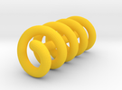 Continuous Helix Small in Yellow Strong & Flexible Polished