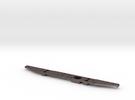 Defender Rear Bumper - Simple in Stainless Steel