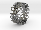 HAWJAN RING in Premium Silver
