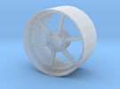 1:24 Scale HRE 446 Rim in Frosted Extreme Detail
