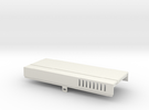 Amiga 1000 Front Expansion Cover in White Strong & Flexible