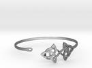 Bracelet V4 20150123 in Premium Silver