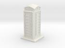 TT Gauge Phone Box in White Strong & Flexible