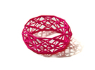 Bracelet Constructionist size L  in Pink Strong & Flexible Polished