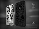 "Iphone 5, 5S case ""Tree of life"" in White Strong & Flexible"
