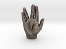 Spock Vulcan Hand Pendant in Stainless Steel