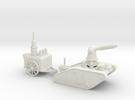 15mm AQMF EDISON / TESLA LIGHTNING TANK MK 1A in White Strong & Flexible