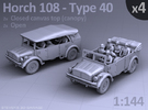 HORCH 108 40 - (4pack) in Frosted Ultra Detail