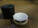 UGO Bluetooth Speaker Top in White Strong & Flexible