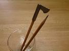 Viking Hatchet Pen Cap in Stainless Steel