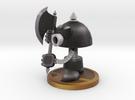 Axe Robot Black in Full Color Sandstone