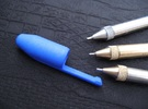 Cap: Exclusive Pen - Classic X in Blue Strong & Flexible Polished