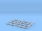 1/87 Topline 4er eckig in Frosted Ultra Detail