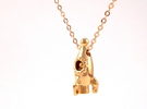 Rocket Pendant in 18k Gold Plated