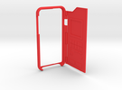 Iphone6 bumper pokedex case in Red Strong & Flexible Polished