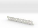 Lüfterhalter 3x 4mm N10 V1 in White Strong & Flexible