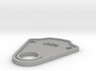 Lock Plate in Raw Aluminum