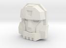 Armada Cyclonus Face (Titans Return) in White Strong & Flexible