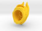Osiris Bull Helm in Yellow Strong & Flexible Polished