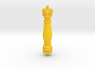 Baluster Carved1 in Yellow Strong & Flexible Polished