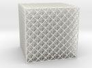 Octet Truss Cube (7x7x7) in White Strong & Flexible