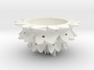 Flower Bowl in White Strong & Flexible