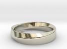 Mobius Wedding Size 9.5 in 14k White Gold