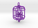 Snowflake Birdcage in Purple Strong & Flexible Polished