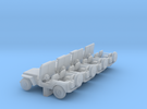 Jeep - Set of 4 - Nscale in Frosted Ultra Detail
