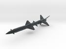 SA-2 Guideline Missile 1/72 in Black Hi-Def Acrylate