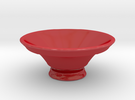 Ashitakas Bowl in Gloss Red Porcelain