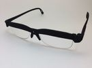 Cheater Prescription or Reading Glasses in Black Strong & Flexible