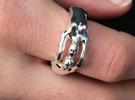 ManWoman US 6 1/2 in Premium Silver