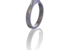 Guitar pick ring in White Strong & Flexible