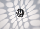 Hedron Series: Pendant Light in Matte Black Steel
