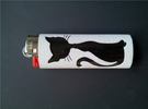 BIC Sleeve Cats in Polished Metallic Plastic